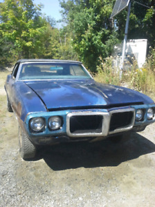 1969 Firebird Convertible Full Restoration Project