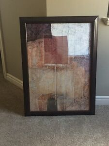 Abstract art in beautiful frame