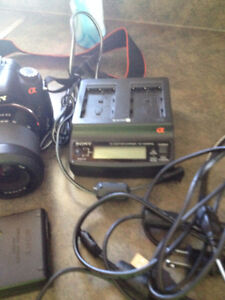 sony digital camera   a200   10.2 mega pix hold 1000 pictures