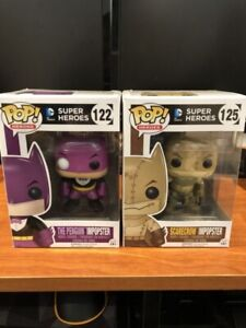 Funko pop! Impopsters penguin and scarecrow