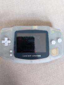 Gameboy advance with pokemon ruby