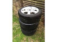 Alloy wheels for Volkswagen MK3.5 golf cabriolet