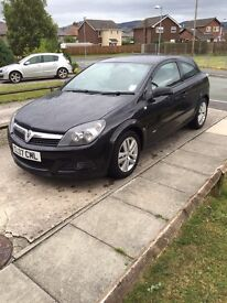 09 Vauxhall Astra 1.4. (Private plate not sold with car)