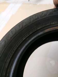 4 Dunlop (195/65/R15) & 4 Firestone 215/60/R16 on chevy rims