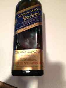 45 year old Johnnie Walker Blue Label - Never opened