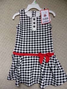 Gymboree Dress Size 2T NWT Olivia Collection