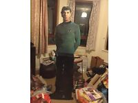 Life size standee of Spock Leonard Nimoy Star Trek The Original Series