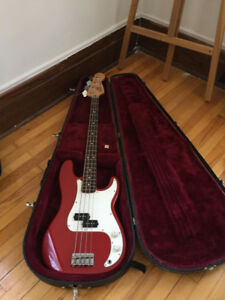 Electric Bass Guitar Fender Standard P