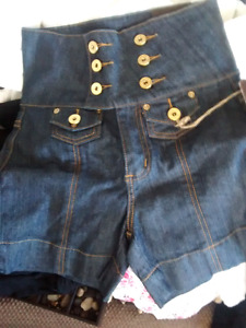 NWT High Waisted Denim Shorts