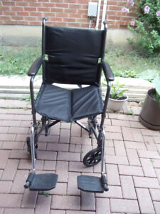 wheelchair transport folder