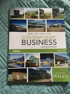 First year business admin textbooks!