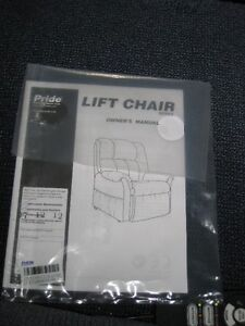 Lift Chair by Pride Mobility Products Kawartha Lakes Peterborough Area image 2