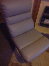 Argos Costa Recliner Chair and Footstool