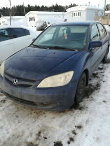 Honda Civic 2004 Automatique 177 000 kilos!