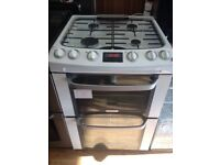 Gas cooker (double oven)