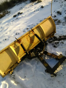 Snow Plow with pump   and brackets 250