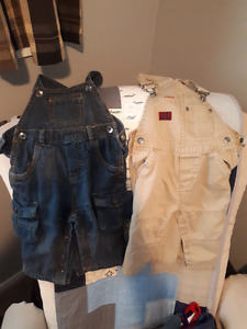 Size 12 month boy overalls