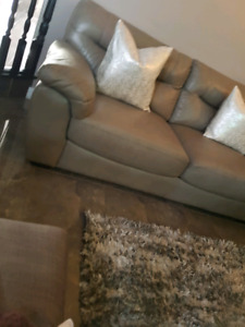 REDUCED 2 LEATHER SOFAS