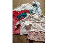 6-9 month girls clothes bundle