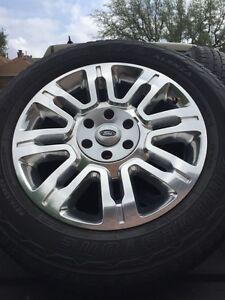 "F150  20"" chrome wheels and tires Oakville / Halton Region Toronto (GTA) image 1"
