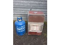 Alvima Portable Gas Heater, for Shed, Garage, Summerhouse or Greenhouse