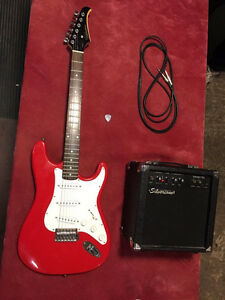Silvertone Electric Guitar and Amp Combo