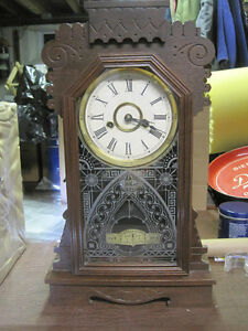 "Ansonia Mantel Clock  ""BRITANNIC"" Model"