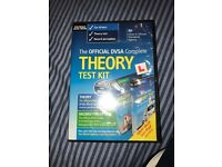Brand new car theory test kit