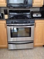 Frigidaire Stainless Steel Gas Stove