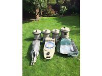 Aqua rolls ,waste master and caravan porch awning .