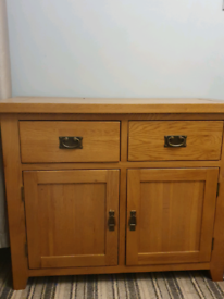 Solid Oak Furniture (Living Room) 5 pieces