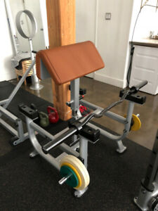 Atlantis Pro-Grade Scott Bench (Preacher Curl) - Slightly used.
