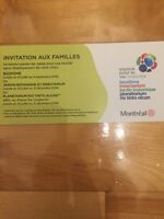 Family pass for 2 adults and 3 kids