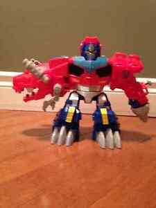 Playskool Heroes Transformers Optimus Primal Action Figure