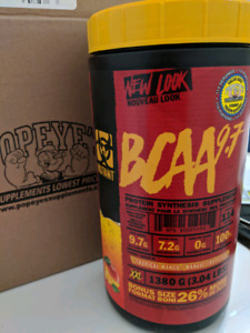 Mutant BCAA 9.7 BONUS 1322 Gram/114 Serving Size Tropical Mango