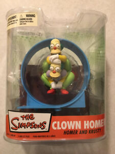 "THE SIMPSONS ""Clown Homer"" Fan Favorite (McFarlane)(2007)(MIP)"