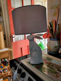 Rabbit/hare lamp
