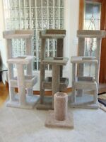 Cat Condos / Tree Houses / Scratching Posts