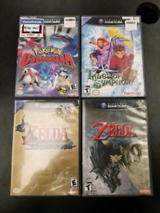Jeux de GameCube (prix séparés)