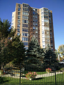 Spacious, bright one bedroom apartment downtown Belleville $1015