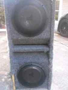 2 10 inch jl audio in ported box