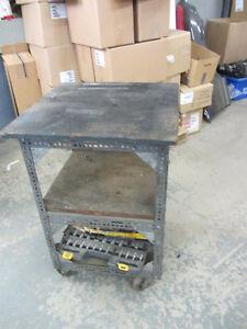 Shop Garage Mechanic Heavy Duty Rolling Cart 3 Foot Height