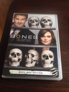 BONES First,second and four season.
