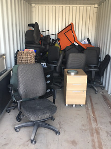 15 plus swivel chairs and more misc stuff