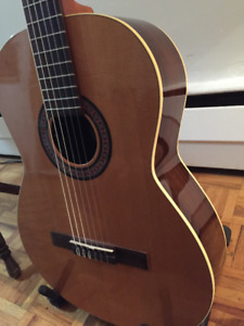 NEW Lapatrie Flamenco/Classic guitar with Fishman+T electronics.