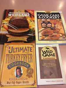 Wild game cook books