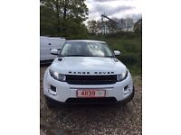 2012 12 Land Rover Range Rover Evoque 2.2eD manual Lady owner 2 owners from new only 54,000 miles