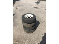 Mini Car / Trailer Wheels - 145/80R 10