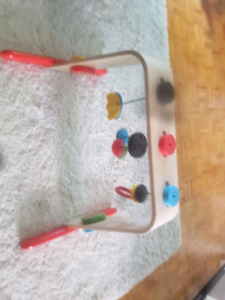 Wooden activity centre for baby