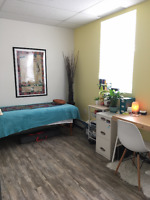 Room for rent in a laid back, North End health & wellness space